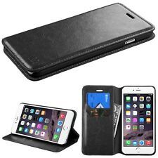 For Apple Iphone 6 6s Plus PU Leather Wallet Credit Card Holder Case Cove Stand