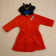 Bing Bunny Red Dressing Gown 2-3 Years NEW