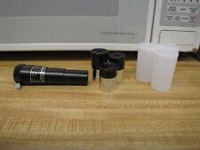 ".965"" 3 Telescope Eyepiece 6mm 12.5mm 20mm & Tasco 2.3x Shorty Barlow Kit"