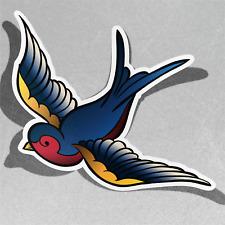 Bird Flying Sky Vinyl Sticker Decal Window Car Van Bike 3440