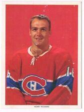 1963-65 Chex Photo Hockey Card Henri Richard Variation