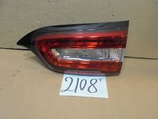 14 15 Jeep Cherokee PASSENGER Side Tail Light Used Rear Lamp #2108T