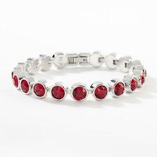 Touchstone Crystal by Swarovski Siam ICE Bracelet BNIB ON SALE $60