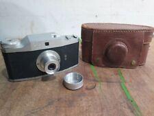 Purma Plus 127 Film Camera 1950s British  Camera With Case