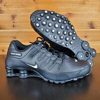 Nike Shox NZ EU Sneakers Shoes Black White 501524-091 Men's New