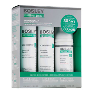 Bosley Defense Starter Pack for Normal to Fine Non Color Treated