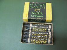 Vintage Milton Bradley's Traffik Traffic Crayons No. 2