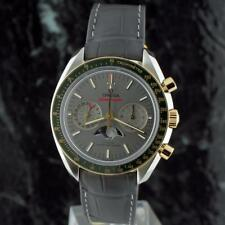 bnib OMEGA SPEEDMASTER 18k Gold / SS MOONPHASE Chronograph 304.23.44.52.06.001