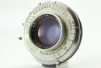 【AS IS:Read】KODAK EKTAR 152mm f/4.5 1:4.5 4X5 View Camera lens From JAPAN