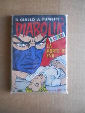Diabolik  n°100 La Morte di Eva  ristampa bianca a colori  [G566]