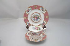 ROYAL ALBERT LADY CARLYLE TRIO CUP SAUCER PLATE