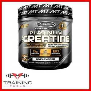 Muscletech Platinum 100% Creatine Pure Micronized Creatine Monohydrate 400g