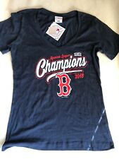 Women's Boston Red Sox T-Shirt 2018 American League Champions Size Large
