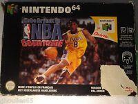 NBA COURTSIDE NINTENDO 64 KOBE BRYANT IN NBA COURTSIDE N64