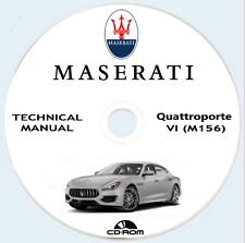 Maserati Quattroporte VI M156 V8 2013.Technical manual.Manuale tecnico QP VI