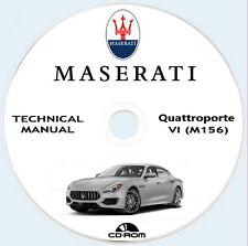 Workshop Manual,manuale officina Maserati Quattroporte VI M156 V8 2013