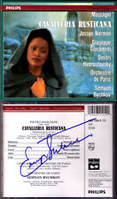 Seymon BYCHKOV Signed MASCAGNI: CAVALLERIA RUSTICANA Jessye Norman Hvorostovsky