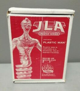 DC DIRECT 2001 JLA PEWTER SERIES PLASTIC MAN PEWTER FIGURINE DC COMICS