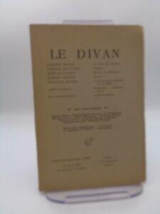 Revue LE DIVAN n°262 Stendhal Mistral et Mallarmé Klingsor  Proudhon ...