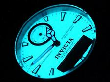 Invicta 43mm PERPETUAL CALENDAR Pro Diver Full luminous dial Ana & Digi SS Watch