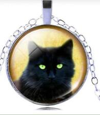 Unbranded Cat Silver Plated Fashion Necklaces & Pendants
