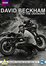 David Beckham Into The Unknown [DVD] BRAND NEW & FACTORY SEALED with extras ^