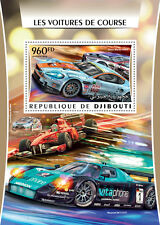 Djibouti 2016 MNH Racing Cars Ferrari Maserati Aston Martin Ford 1v S/S Stamps