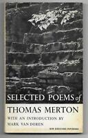 Selected Poems of Thomas Merton (New Directions pb #85, 1959 1st Edition, RARE)
