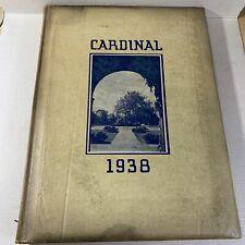 Wells College 1938 Yearbook Aurora New York Cardinal