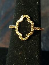 Ring Bomb Party ring - Three Wishes Collection Moroccan Dreams-morganite- size 7