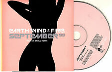 CD CARDSLEEVE CARTONNE EARTH WIND & FIRE SEPTEMBER 99 2T REMIX PHATS & SMALL