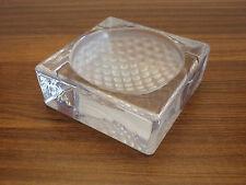 Vide poche, presse papier, à décor de balle de golf, design, 8,5 x 8,5 x 3 cm,