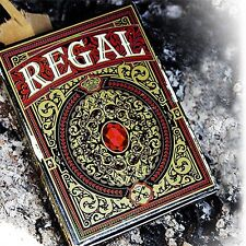 Regal red Playing Cards poker juego de naipes Expert Playing Card Company