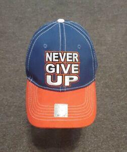 WWE John Cena 'U Cant C Me' Red White Blue Never Give Up Baseball Hat Cap