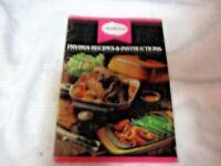 A Vintage 1960/70's Australian Sunbeam Frypan Recipe & Instructions Booklet