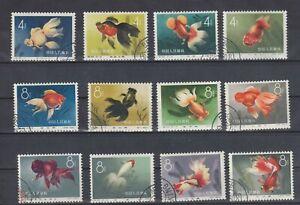 CHINA PRC SC#506-17, Beautiful Chinese Goldfish S38 CTO NH/OG