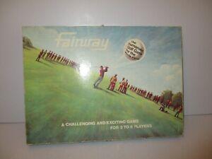 RARE VINTAGE FAIRWAY TOURNAMENT GOLF GAME BY HFN GAMES LTD - COMPLETE VGC