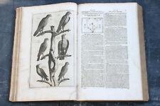 NOEL CHOMEL Supplément au Dictionnaire Oeconomique 1741 Livre ancien Agronomie