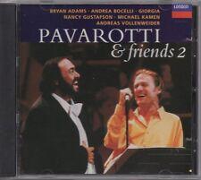 "LUCIANO PAVAROTTI ""PAVAROTTI & FRIENDS 2"" CD '95 london"