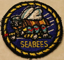 Seabee CB Vietnam Era Picasso Face Version Navy Patch