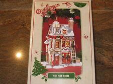 THE FIRE HOUSE ~ Department 56 ~ A Christmas Story ~ FIREMAN FIREMEN RALPHIE