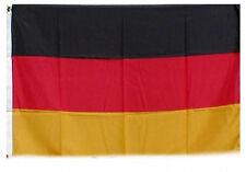 Fahne Flagge Deutschland 1,5 Meter x 0,9 Meter mit Oesen Neu Nationalflagge #105