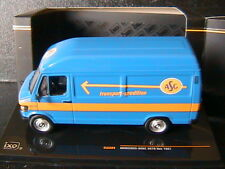 MERCEDES BENZ TOLE 207D VAN 1987 ASG IXO CLC224 1/43 SPEDITION TRANSPORT BLUE