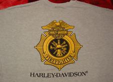 HARLEY DAVIDSON RARE FIREFIGHTER SWEATSHIRT (XXXL)
