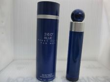 PERRY ELLIS 360 BLUE FOR MEN 3.4 FL oz/ 100 ML Eau De Toilette Spray New In Box
