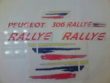 KIT COMPLET, Stickers Decals autocollants  Peugeot 306 RALLYE