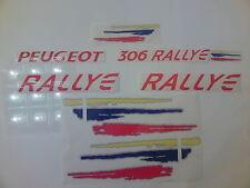 KIT COMPLET, Stickers Decals autocollants  Peugeot 306 RALLYE