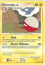 POKEMON DIAMOND AND PEARL STORMFRONT - ELECTRODE 37/100