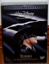 ZORRO 1º TEMPORADA COMPLETA PACK 6 DVD NUEVO PRECINTADO DISNEY SERIE (SIN ABRIR)