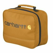 Carhartt Kids' Insulated Soft-Sided School Lunchbox, Carhartt Brown Iconic